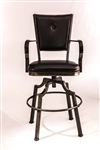 Castlebrook Tilt Base Bar Stool by Hillsdale - HIL-5763-830