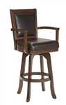Ambassador Swivel Counter Stool by Hillsdale - HIL-6124-826