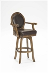 Warrington Swivel Bar Stool by Hillsdale - HIL-6125-830