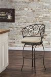 Solana (Indoor/Outdoor) Swivel Bar Stool by Hillsdale - HIL-6299-830
