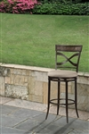 Wayborn (Indoor/Outdoor) Swivel Counter Stool by Hillsdale - HIL-6321-827
