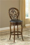 Alexandra Swivel Bar Stool by Hillsdale - HIL-63885