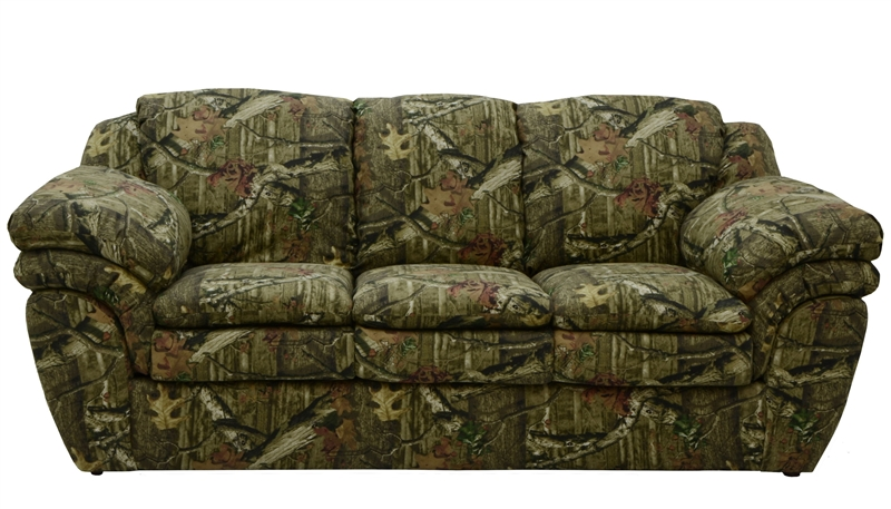 Huntley Sofa In Mossy Oak Or Realtree Camouflage Fabric By