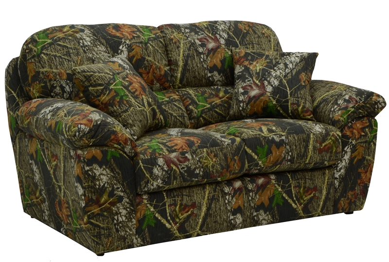 Cumberland 2 Piece Sofa Set In Mossy Oak Or Realtree Camouflage Fabric By Jac
