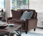 Mulholland Chair in Chocolate Fabric by Jackson Furniture - 3255-01-CH