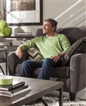 Mulholland Chair in Mocha Fabric by Jackson Furniture - 3255-01-M