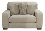 Serena Oversized Chair in Oyster Chenille by Jackson Furniture - 3276-01-O