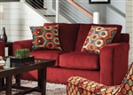 "Sutton Loveseat in ""Algerian"" Chenille by Jackson - 3289-02-A"