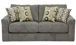 "Sutton Loveseat in ""Cobblestone"" Chenille by Jackson - 3289-02-C"