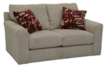 "Sutton Loveseat in ""Doe"" Chenille by Jackson - 3289-02-D"