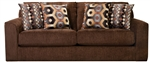 "Sutton Sofa in ""Chocolate"" Chenille by Jackson - 3289-03-CH"