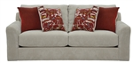 "Sutton Sofa in ""Doe"" Chenille by Jackson - 3289-03-D"