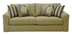 "Sutton Sofa in ""Treasure"" Chenille by Jackson - 3289-03-T"