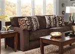 "Sutton Queen Sleeper Sofa in ""Chocolate"" Chenille by Jackson - 3289-04-CH"
