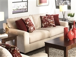 "Sutton Queen Sleeper Sofa in ""Doe"" Chenille by Jackson - 3289-04-D"