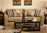 "Sutton Queen Sleeper Sofa in ""Treasure"" Chenille by Jackson - 3289-04-T"