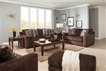 "Sutton 2 Piece Set in ""Chocolate"" Chenille by Jackson - 3289-SET-CH"