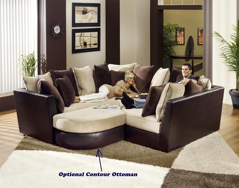 canyon 3 piece modular sectionaljackson furniture - 4160-3