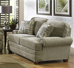 Braddock Loveseat in Chenille Fabric by Jackson - 4238-02
