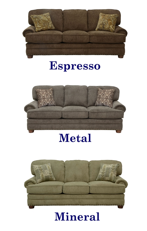 Braddock Sofa In Chenille Fabric By Jackson 4238 03