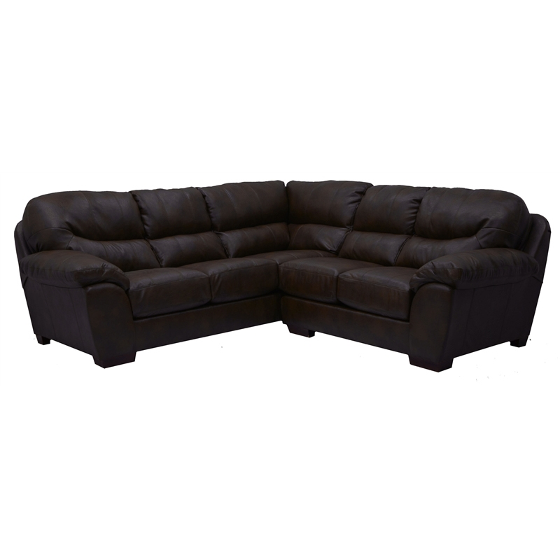 Italian Leather Sofa By Cake: Lawson 2 Piece Godiva Leather Sectional By Jackson
