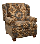 Belmont Mahogany Accent Reclining Chair by Jackson Furniture - 4347-11-M