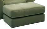"Mesa Storage Ottoman in ""Sage"" Fabric by Jackson Furniture - 4366-S-77"