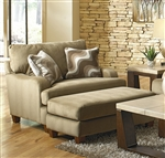 Hartwell Chair in Bronze Color Fabric by Jackson - 4379-01-B