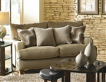 Hartwell Loveseat in Bronze Color Fabric by Jackson - 4379-02-B