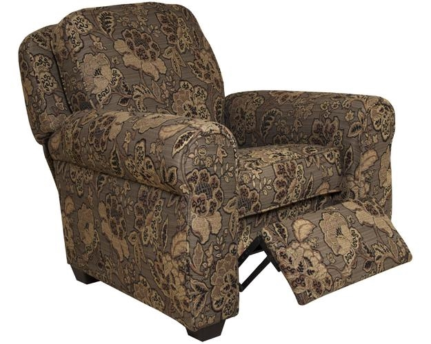 Downing Press Back Recliner In All Spice Fabric By Jackson