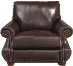 Dawson Chair in Redwood Leather by Jackson Furniture - 4408-01-R
