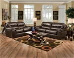 Brantley 2 Piece Leather Set by Jackson Furniture - 4430-S