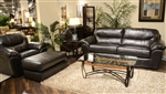 Brantley 2 Piece Leather Sofa Sleeper, Loveseat Set by Jackson Furniture - 4430-SS