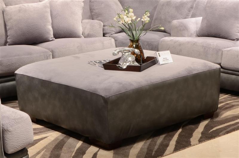 barkley 2 piece sofa set in grey fabric by jackson