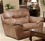 Grant Chair in Steel Leather by Jackson Furniture - 4453-01-ST