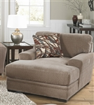 Prescott Chaise in Otter Chenille by Jackson Furniture - 4487-09-OT