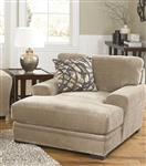 Prescott Chaise in Putty Chenille by Jackson Furniture - 4487-09-P