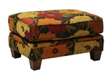 Hartwell Accent Ottoman in Pattern Fabric by Jackson - 798-10