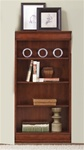 Louis Jr Executive 60-Inch Bookcase in Deep Cherry Finish by Liberty Furniture - 101-HO3060