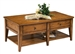 Lake House Cocktail Table in Oak Finish by Liberty Furniture - 110-OT