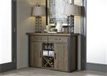 Haley Springs Server in Reclaimed Gray and Tan Wood Finish by Liberty Furniture - 128-SR5638