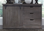 Carolina Lakes Server in Wire Brushed Weathered Gray Finish by Liberty Furniture - 140-SR6037