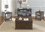 Dockside Storage Trunk / Cocktail Table in Tobacco Finish by Liberty Furniture - 169-OT1012