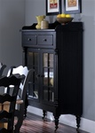 Treasures Display Cabinet in Black Finish by Liberty Furniture - 17-CH6866B