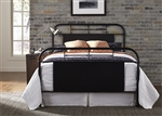 Vintage Metal Bed in Black Finish by Liberty Furniture - 179-BR13HFR