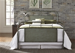 Vintage Metal Bed in Green Finish by Liberty Furniture - 179-BR13HFR-G
