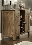 Carolina Crossing Server in Antique Honey Finish by Liberty Furniture - 186-SR4836