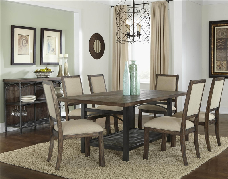 Franklin Counter Height Gathering Table 5 Piece Dining Set in ...