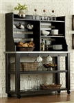 Keaton Server & Hutch in Charcoal Finish by Liberty Furniture - LIB-219-SH5666