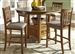 Santa Rosa Pub Table 3 Piece Dining Set in Mission Oak Finish by Liberty Furniture - 25-PUB4260
